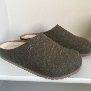 Birkenstock kaprun Wool Shearling Men's Clogs